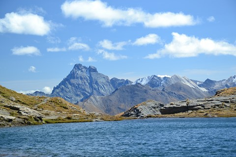 lake viso hut to hut trek alpine tour italy